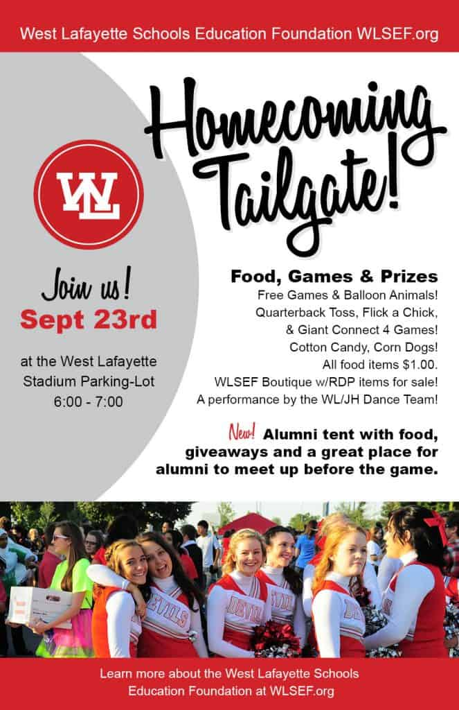 WLSEF_Homecoming_tailgate_2016_poster