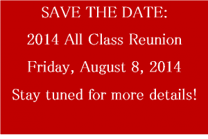 All Class Reunion STD