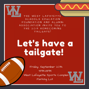 Let's have a tailgate!